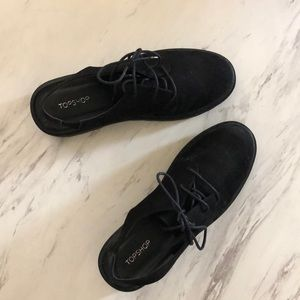TOPSHOP Firefly Lace Up Shoes